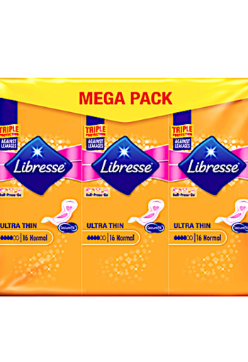 Libresse Ultra Thin Maandverband Mega Pack Normal 48 stuks