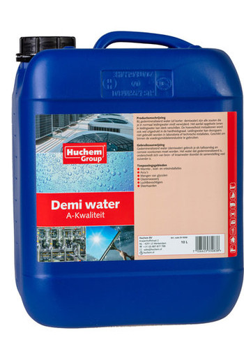 Demi water 10L can