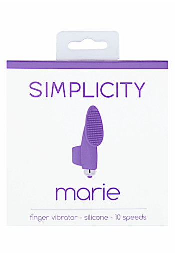 Simplicity Marie Vinger Vibrator Paars