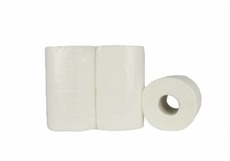 Toiletpapier Traditioneel - 8x8 rollen, 180 vellen, 4 laags