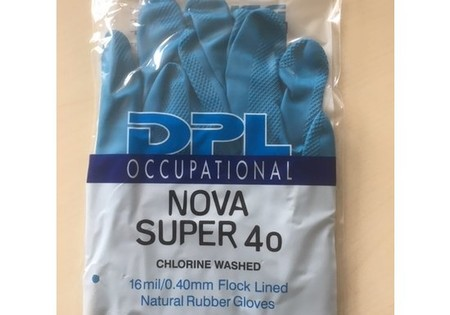 DPL Nova 40 Super Latex Handschoenen - maat XL